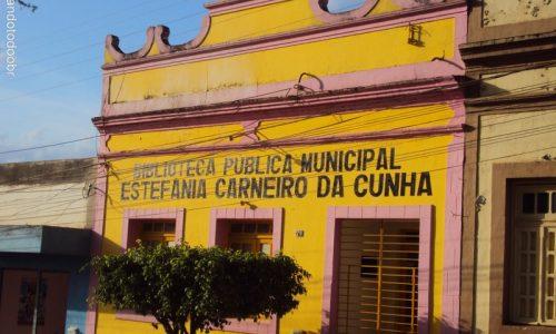 Vicência - Biblioteca Pública Municipal Estefânia Carneiro da Cunha